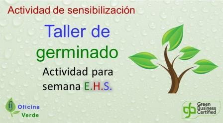 TALLER DE GERMINADO PARA EMPLEADOS (Dinamica de sensibilizacion)