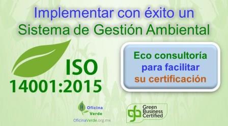 Consultoria ISO 14001:2015