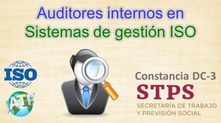 TALLER. AUDITORES INTERNOS en sistemas de gestion ISO