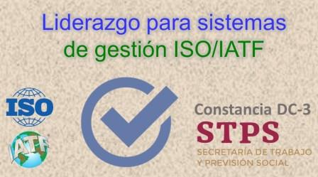 TALLER. LIDERAZGO Y COMPROMISO en sistemas ISO/IATF
