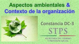Aspectos ambientales y contexto de la organización ISO 14001