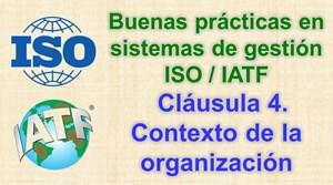 Análisis del contexto de la organización ISO/IATF