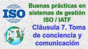 Misión y valores para la toma de conciencia sistemas ISO/IATF