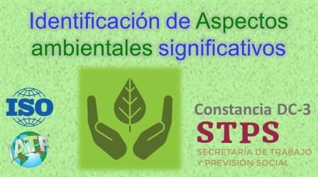 TALLER. ASPECTOS AMBIENTALES SIGNIFICATIVOS