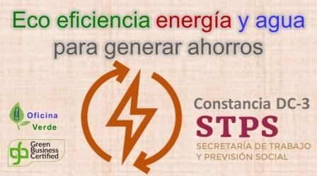 CURSO. ECO EFICIENCIA en energía y agua