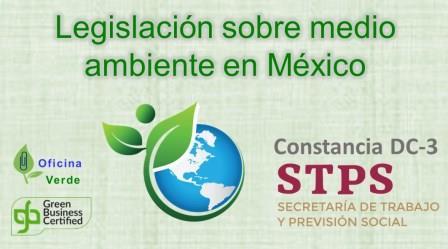 CURSO. LEGISLACION SOBRE MEDIO AMBIENTE en Mexico