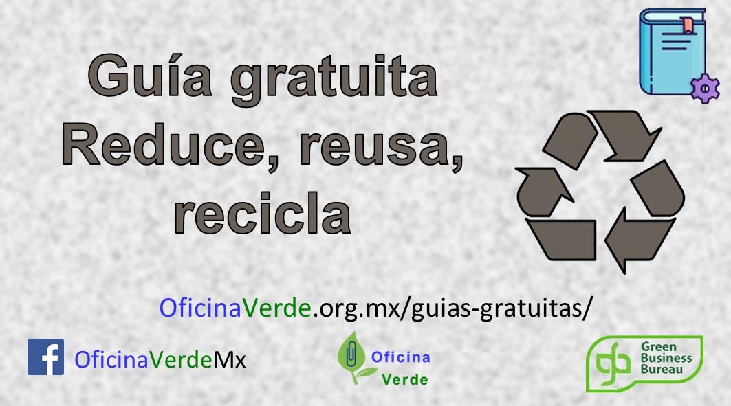 Guia gratuita. Manejo de residuos con metodología 3R